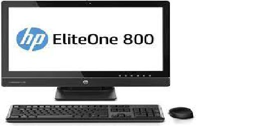 "HP EliteOne 800 G1 23"" TOUCH SCREEN AIO i5-4570S, No Hard drive,16GB RAM Win 10 Pro, Refurbished"