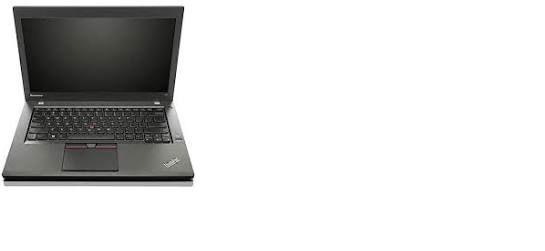 """Lenovo Thinkpad T450 Ultrabook Laptop Core i5 5300u 2.3GHz 8GB RAM 256GB SSD Win 10 Pro 14.0"""" HD+ LCD Webcam Refurbished (minor screen blemish_"""