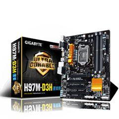 GIGABYTE GA-H97M-D3H Socket 1150