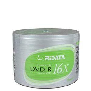 Ridata 16X DVD-R 50pcs Spindle
