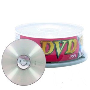 Ridata 6X DVD-RW 25pcs Spindle