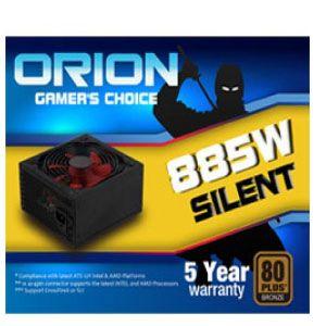 Orion 885Watts Silent Power Supply 80Plus