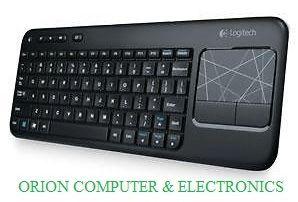 LOGITECH K400 Wireless Keyboard With TouchPad Refurbished