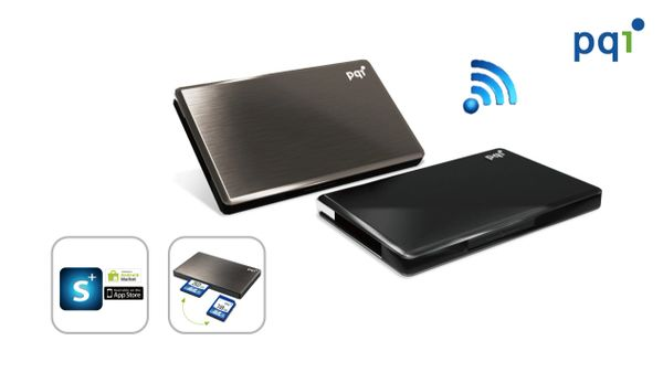 PQI 16gb Personal Portable Wireless Storage