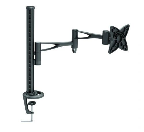 "TygerClaw PM6406BLK - 10"" to 24"" Desk Mount"