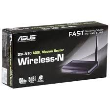 ASUS DSL-N10 Wireless-N ADSL Modem Router