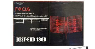 FOCUS Extreme Long Rang 8-Bay Multi-Directional 80+ mi