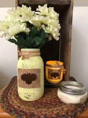 Bumblebee Mason Jar