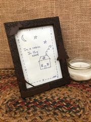 Into the woods picture frame