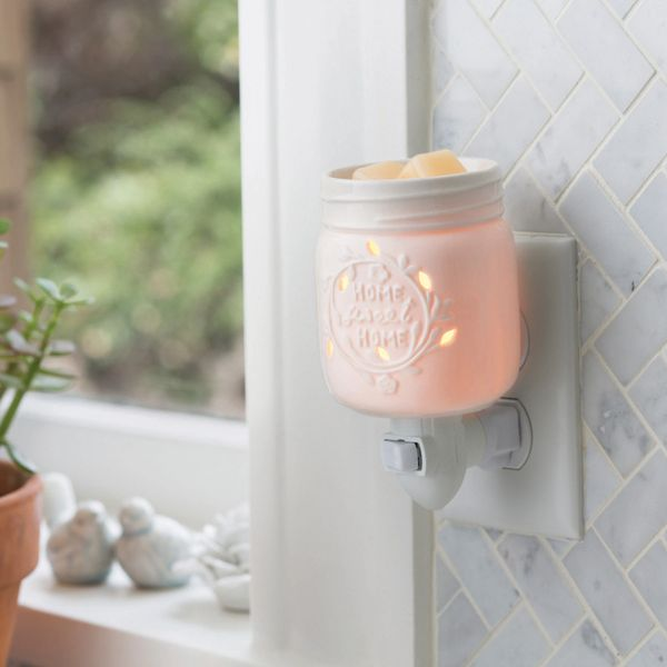 Old Time Mason Jar Pluggable Warmer