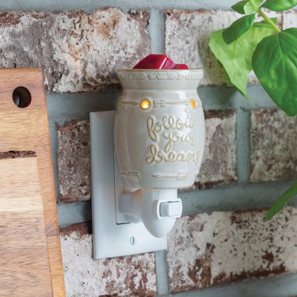 Follow your dreams pluggable warmer