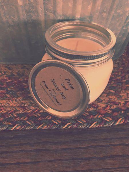 16oz Prim Cupboard Scented Candle