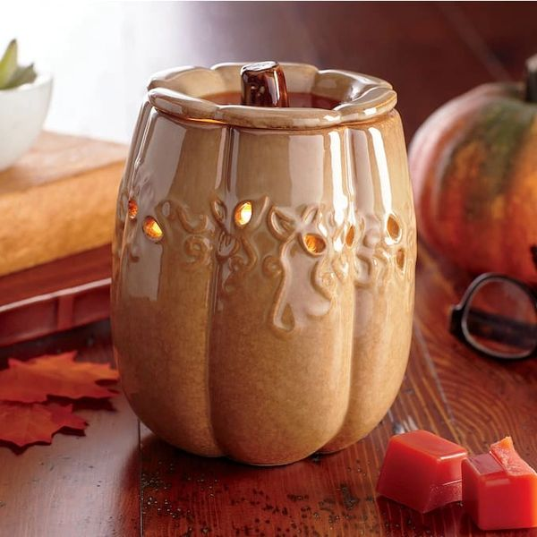 Fall Pumpkin Harvest Wax Warmer