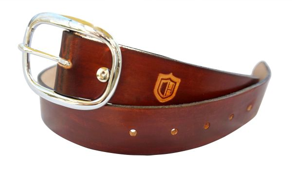 Handmade Leather Holster Belt