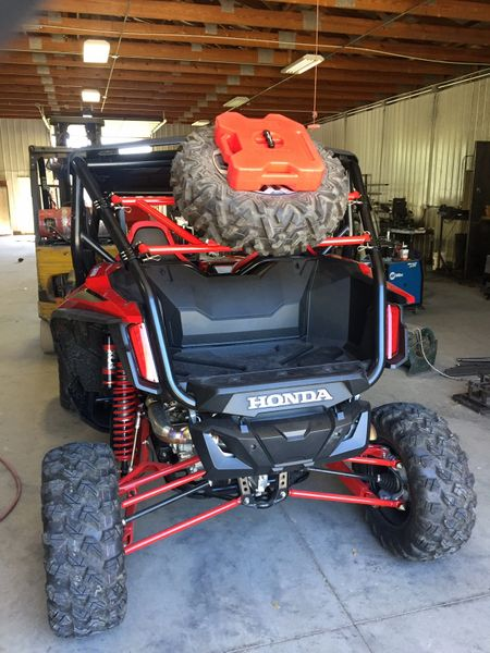 Honda talon spare tire carrier