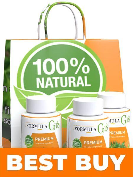 Formula G-18 (Starter Pack - 3 Month Supply / 3 Bottles)