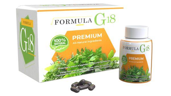 Formula G-18 (1 Year Supply / 12 Bottles)