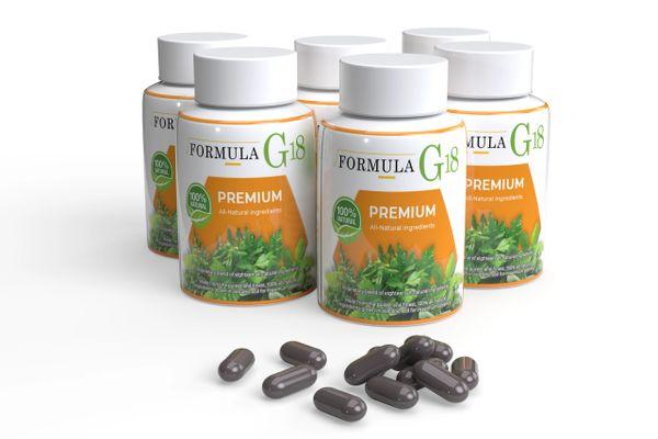 Formula G-18 (6 Month Supply / 6 Bottles)