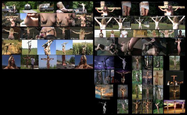 BDSM - Crucifix 07 - 11 scenes - 1 hr 22 min - *used DVD in paper sleeve - NO ART - (Q=F-G-VG)
