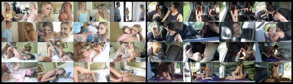BDSM - FN-PT-18 - Trisha & Chloe + Vanessa - 2 movies - 1 hr 7 min - *used DVD in paper sleeve - NO ART - (Q=VG)