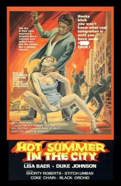 Hot Summer in the City - 1976 - interracial-blaxploitation - 1 hr 8 min - *used DVD in paper sleeve - NO ART - (Q=F-G)
