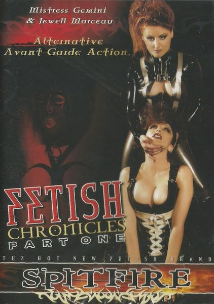 Jewel Marceau - Fetish Chronicles 1- *used FACTORY ORIGINAL DVD in case with artwork - (Q=G)