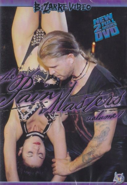 BDSM - BV - The Pain Masters 1 - 19 scenes - *used FACTORY ORIGINAL DVD in case with artwork - (Q=VG)
