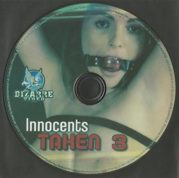 BDSM - BV - Innocents Taken 03 - FEM DOM - 4 scenes - 1 hr 31 min - *used DVD in paper sleeve - art on disc face - (Q=VG)