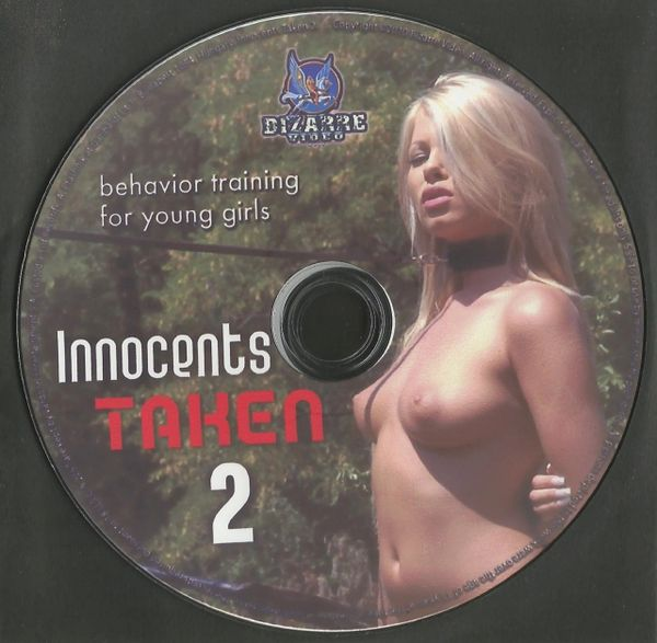 BDSM - BV - Innocents Taken 02 - 3 scenes - 1 hr 05 min - *used DVD in paper sleeve - art on disc face - (Q=VG)