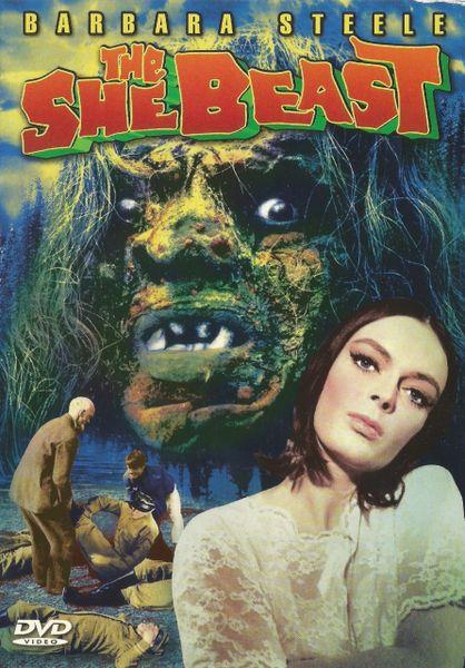 ABA - SHE Beast - Barbara Steele - 1966 - 82 min - *used Factory Original DVD in case with artwork - (Q=G)