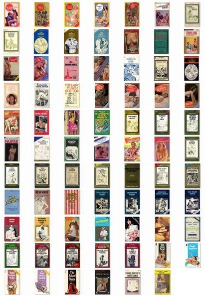 EBOOK - 70 plus ebooks - NURSE-DOCTOR various - *used DVD in paper sleeve - (Q=G-VG)