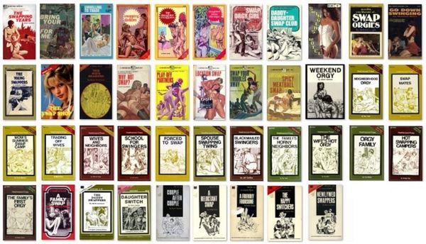 EBOOK - 40 plus ebooks - SWAP-ORGY various - *used DVD in paper sleeve - (Q=G-VG)