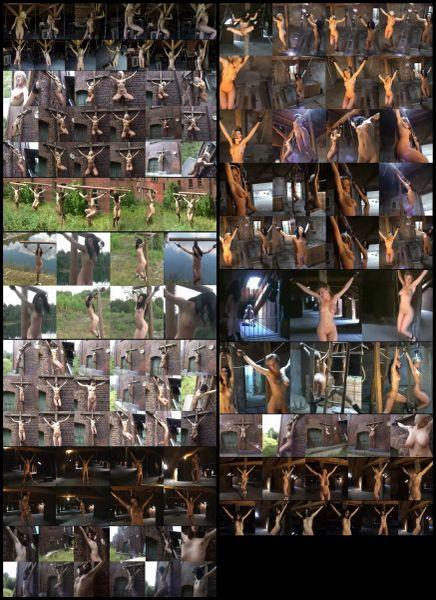 Crucified Women - 14 scenerios-15 models - 1 hr 34 min - *used DVD in paper sleeve - No Art - (Q=G-VG)