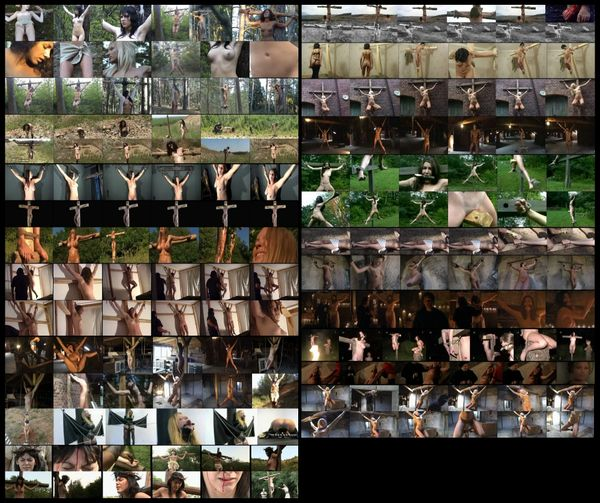 BDSM - Crucifix 11 - 18 scenarios - 2 hr 18 min - *used DVD in paper sleeve-no art-(Q=G-VG)