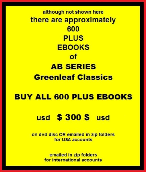 00-ALL 600 plus AB Series ebooks - Greenleaf Classics
