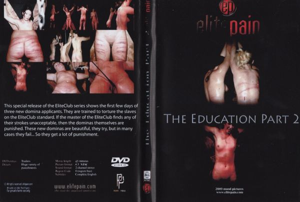 EPM - The Education-part 2 - 45 min - used Factory Original DVD in case with artwork-(Q=G-VG)