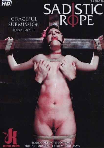 DC-SR - Graceful Submission-Iona Grace - 87 min - used Factory Original DVD in case with artwork - GC