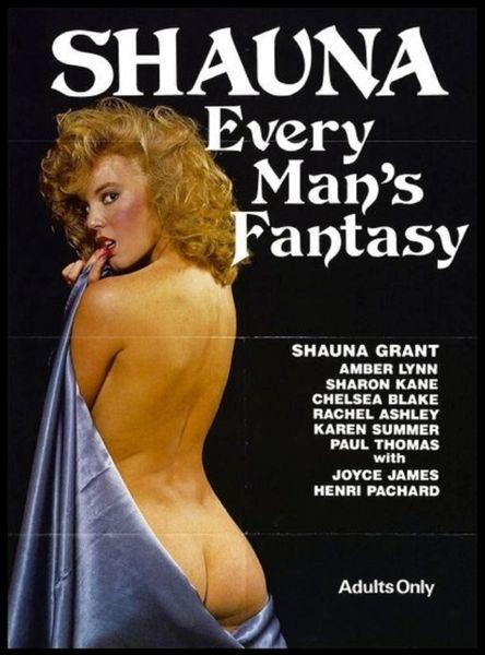 SEX - Shauna-Every Mans Fantasy-1985 - 1 hr 20 min - *used DVD in paper sleeve-no art-(Q=G-VG)