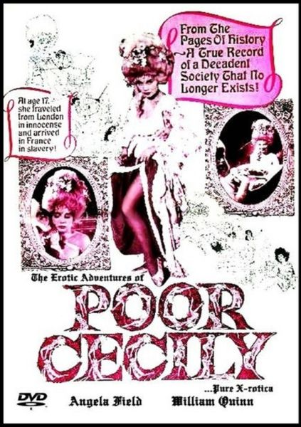 Poor Cecily-1974 - 1 hr 26 min - *used DVD in paper sleeve-no art-(Q=F-G)