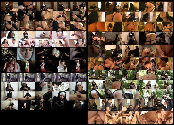 Nun-sploitation 01 - 9 scenes - 2 hr 18 min - *used DVD in paper sleeve-no art-(Q=G-VG)