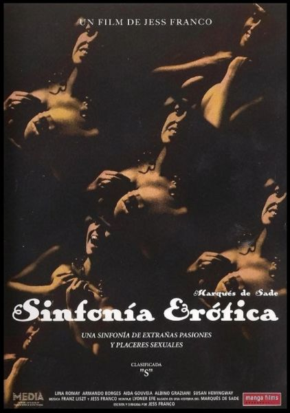 Sinfonia Erotica-1980 - 1 hr 24 min - *used DVD in paper sleeve-no art-(Q=G-VG)