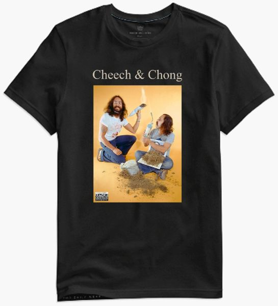 Cheech & Chong - 1974 - collectors photo t-shirt