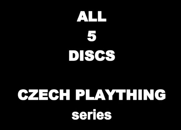 Models-P - PK 05-Czech PlayThing - ALL 5 DISCS - 12 hr 12 min - *used DVDs in paper sleeves-no art-(Q=VG)
