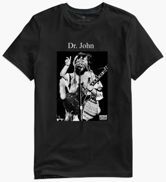 Dr John - collectors photo t-shirt
