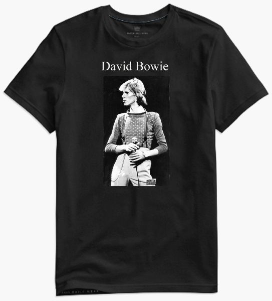 David Bowie - collectors photo t-shirt