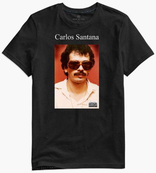 Carlos Santana - collectors photo t-shirt