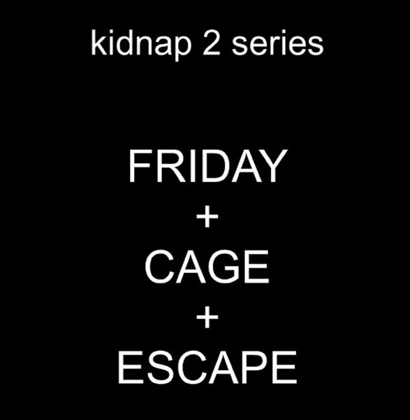 Kidnap 2 series - 3 movies - 1 hr 10 min - *used DVD in paper sleeve-no art-(Q=G-VG)