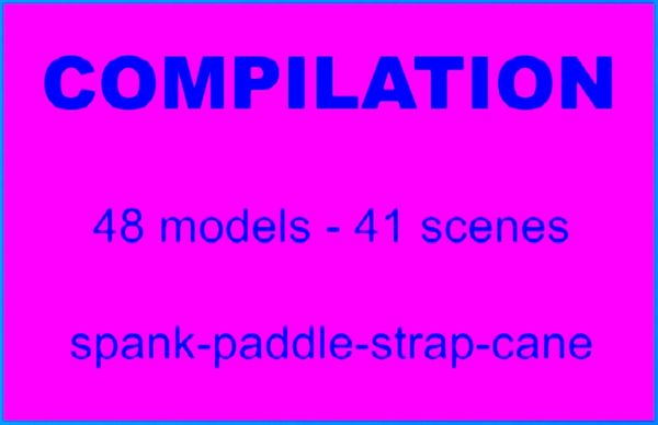 Models-Z - Compilation-48 models-41 scenes - 2 hr 18 min - *used DVD in paper sleeve-no art-(Q=G-VG)