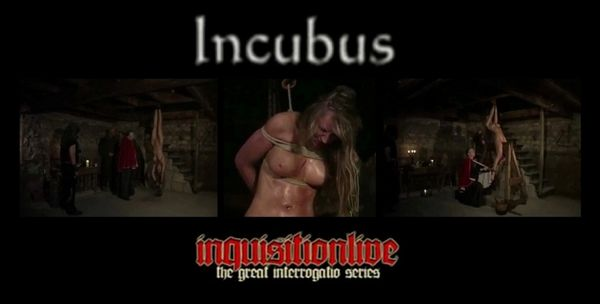 Interrogatio - Incubus-2008 - 1 hr 14 min - *used DVD in paper sleeve-no art-(Q=G-VG)