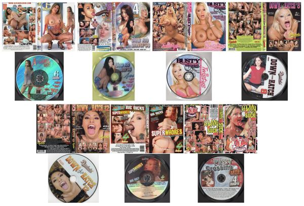 SEX - 7 dvds - *used Factory Original DVDs in cases with artwork-(Q=VG)